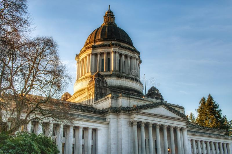 Olympia Wa Landscape Of The Capitol Building Stock Image Image Of Capitol Fall 106490643
