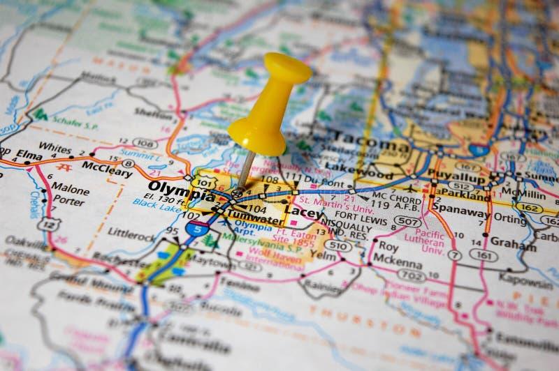 Olympia Washington arkivbild