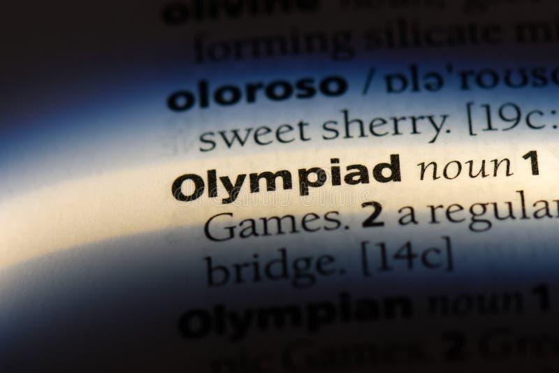 olympiad royaltyfri fotografi