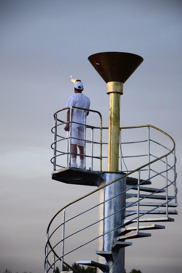 Olympiad för utomhus- sportar royaltyfri bild
