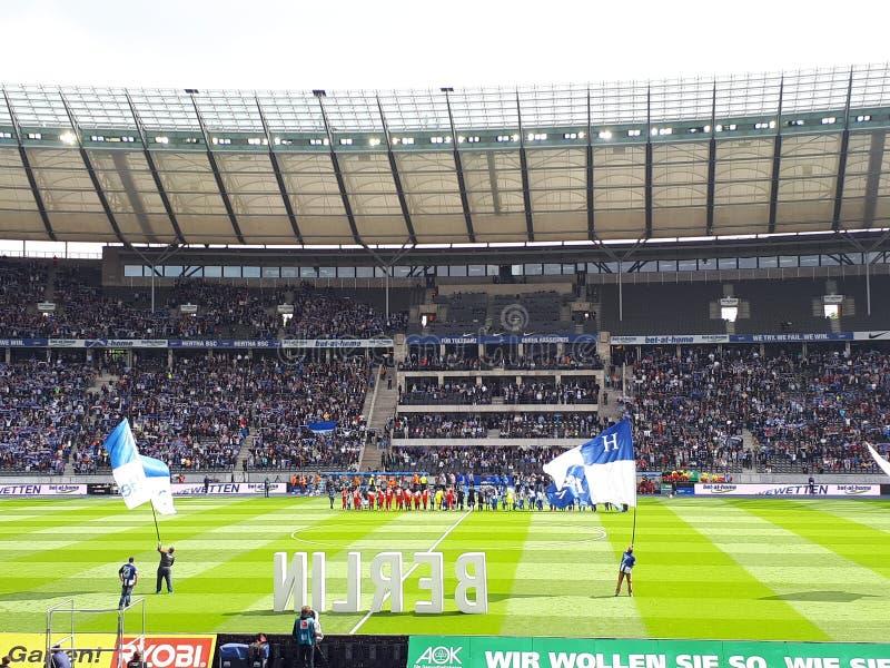 Olympiastadion Βερολίνο στοκ φωτογραφία με δικαίωμα ελεύθερης χρήσης