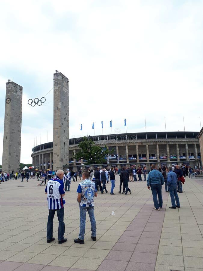 Olympiastadion Βερολίνο στοκ φωτογραφίες