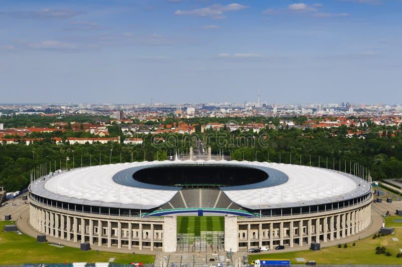 olympiastadion του Βερολίνου στοκ φωτογραφία
