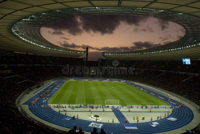 olympiastadion royaltyfri bild