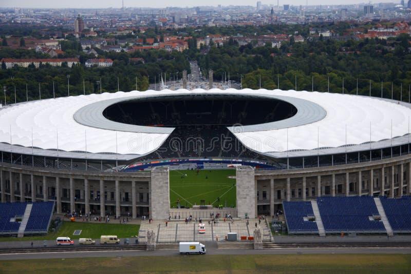 Olympiastadion Berlín fotografía de archivo libre de regalías