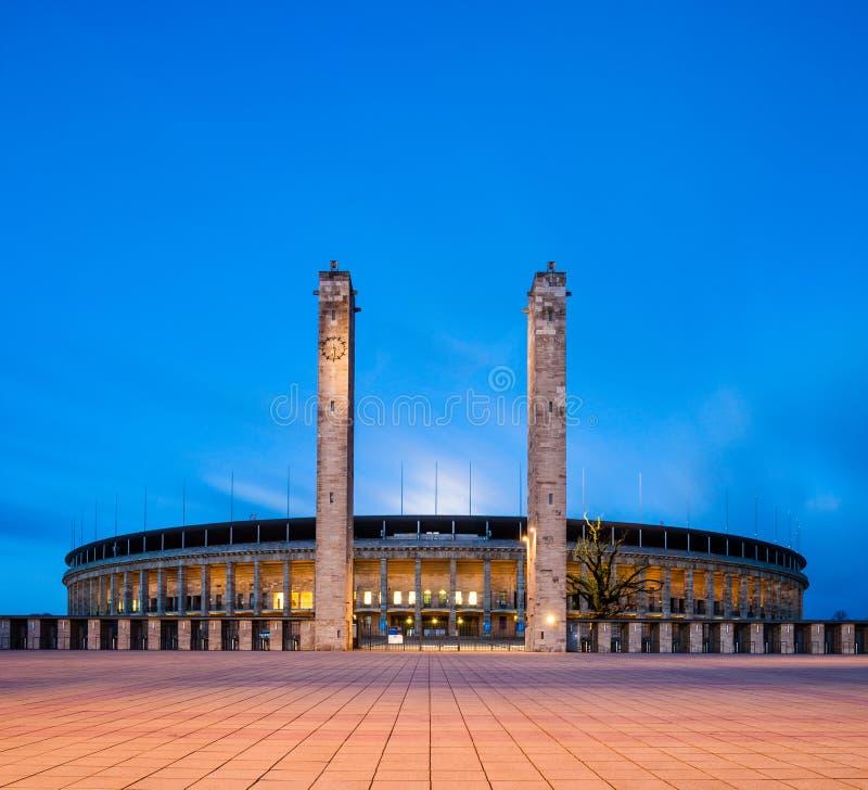 olympiastadion berlin стоковое фото rf