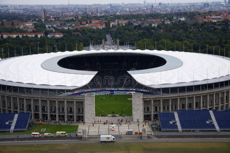 Olympiastadion Berlin royalty free stock photography