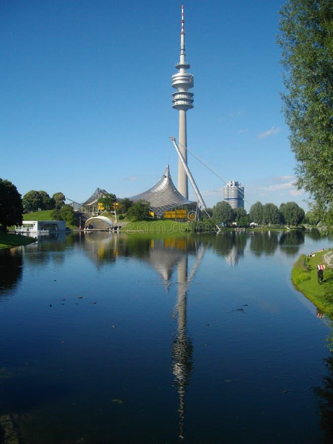 Olympiaturm royalty-vrije stock foto