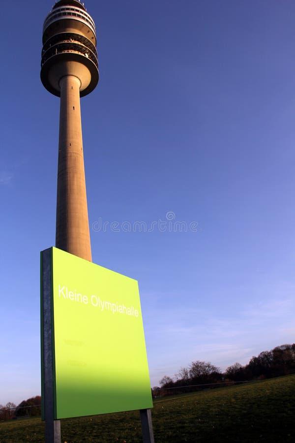 Olympiaturm arkivfoton