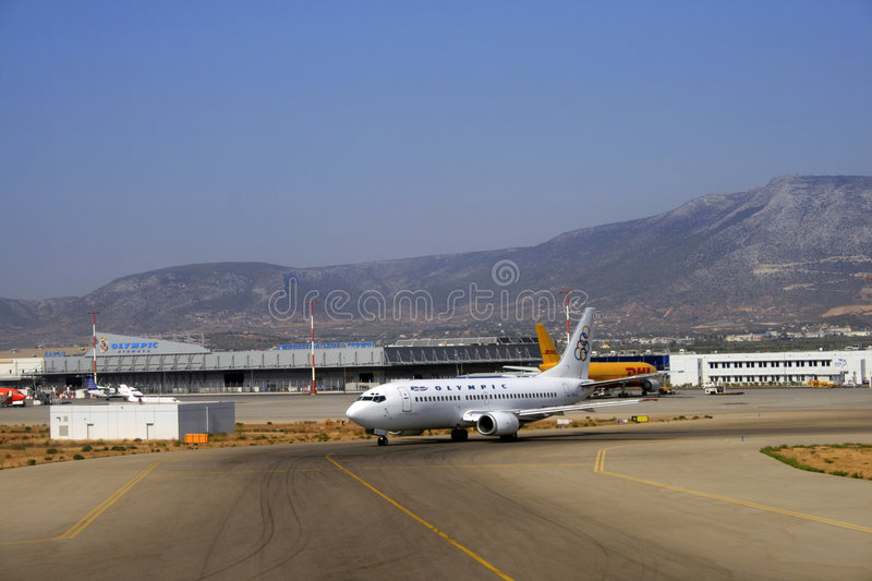 Olympic Airways foto de stock