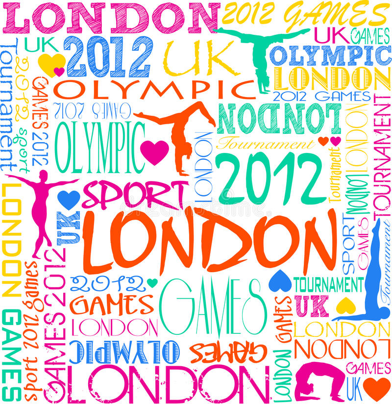 Download Olympic background stock vector. Image of exercise, body - 23813681