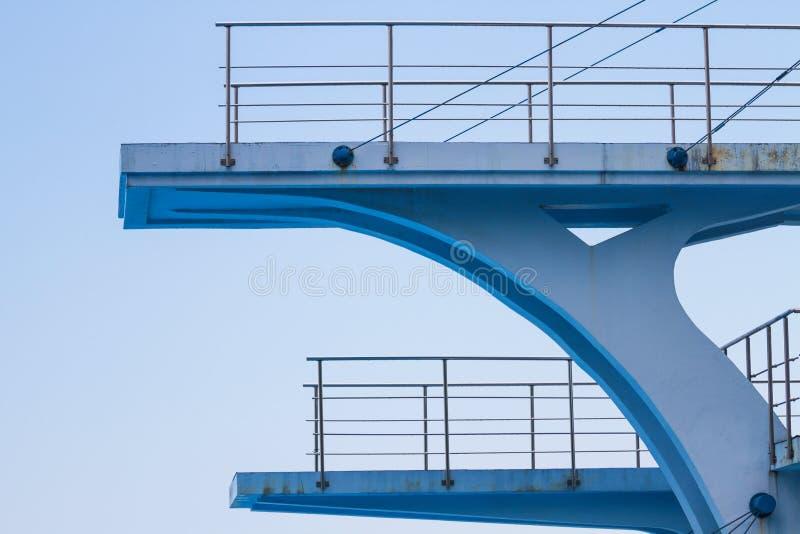 Olympic diving platform stock photos