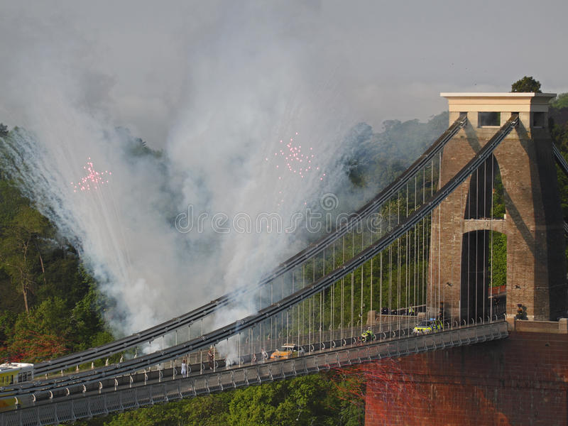 Download Olympic Fireworks editorial photo. Image of hanger, britain - 24926741