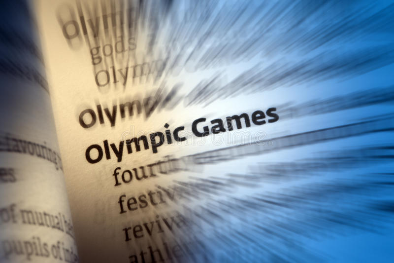 Download Olympic Games stock photo. Image of olympiad, competitions - 34436214