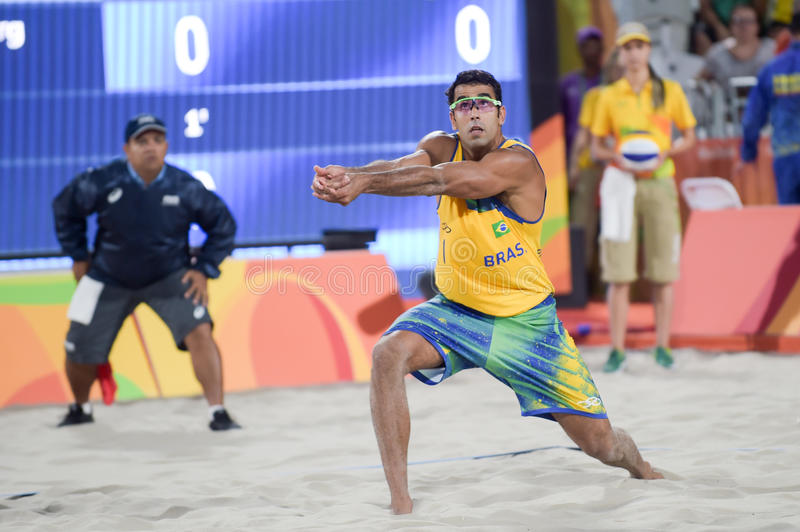 Download Olympic Games Rio 2016 editorial photo. Image of player - 83718606