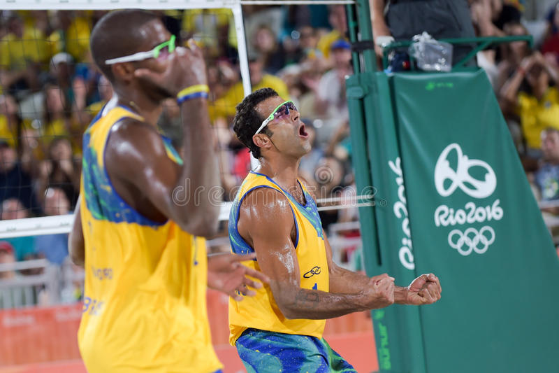 Download Olympic Games Rio 2016 editorial stock image. Image of player - 83718644
