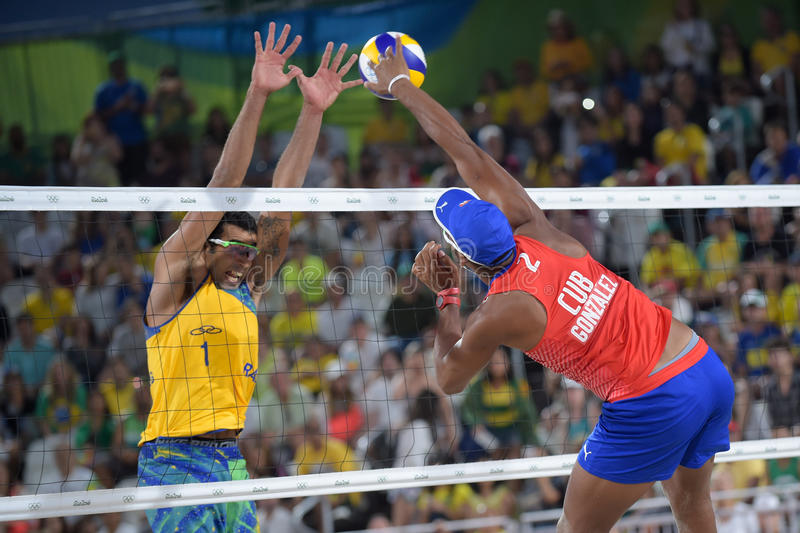 Download Olympic Games Rio 2016 editorial image. Image of volley - 83719670