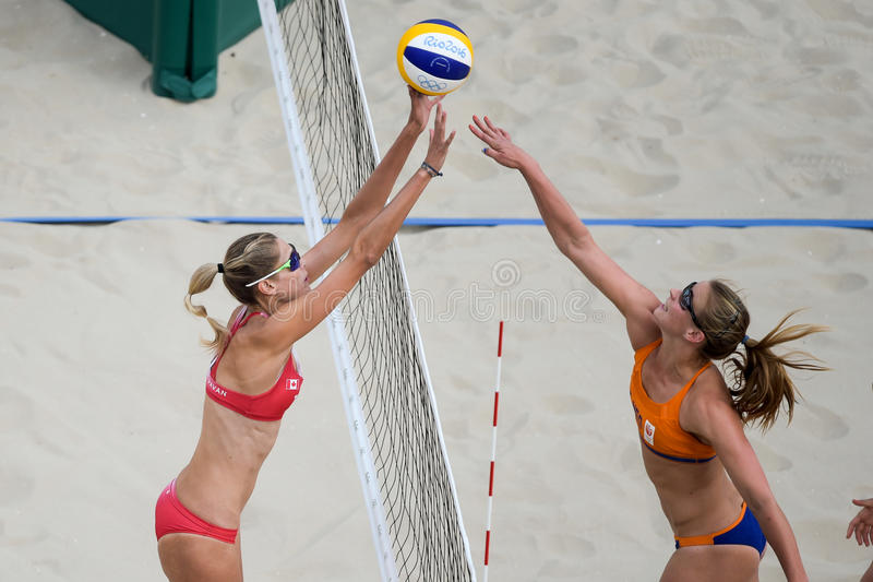 Download Olympic Games Rio 2016 editorial stock photo. Image of ball - 83717893