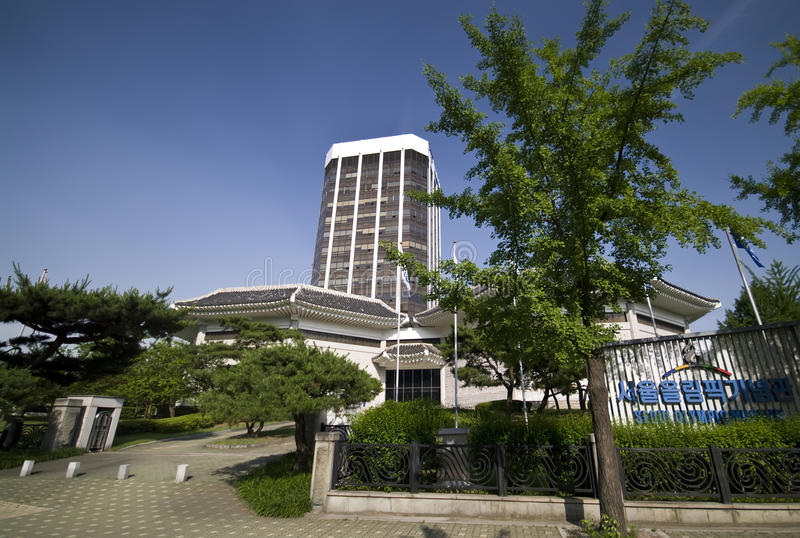 Download Olympic Hotel in Seoul editorial image. Image of south - 15279925