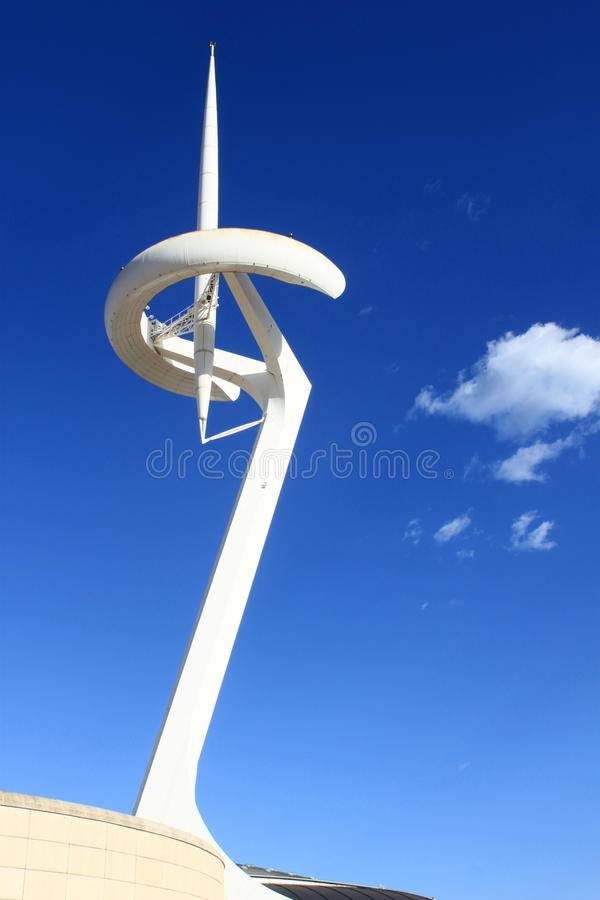 Download Olympic park in Barcelona editorial photo. Image of tower - 26926131