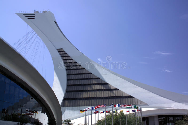 Olympic Park - Montreal - Canada stock image