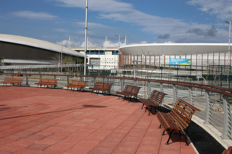 Olympic Park Rio 2016 has been transformed into a leisure area b royalty free stock image