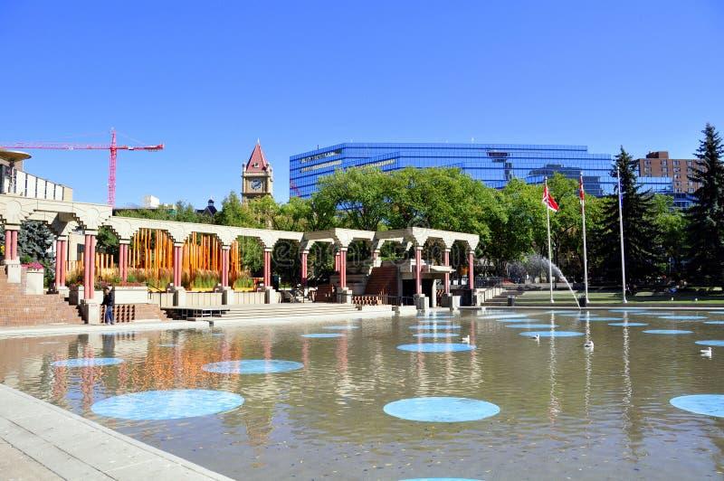 Olympic Plaza, Calgary Editorial Photo