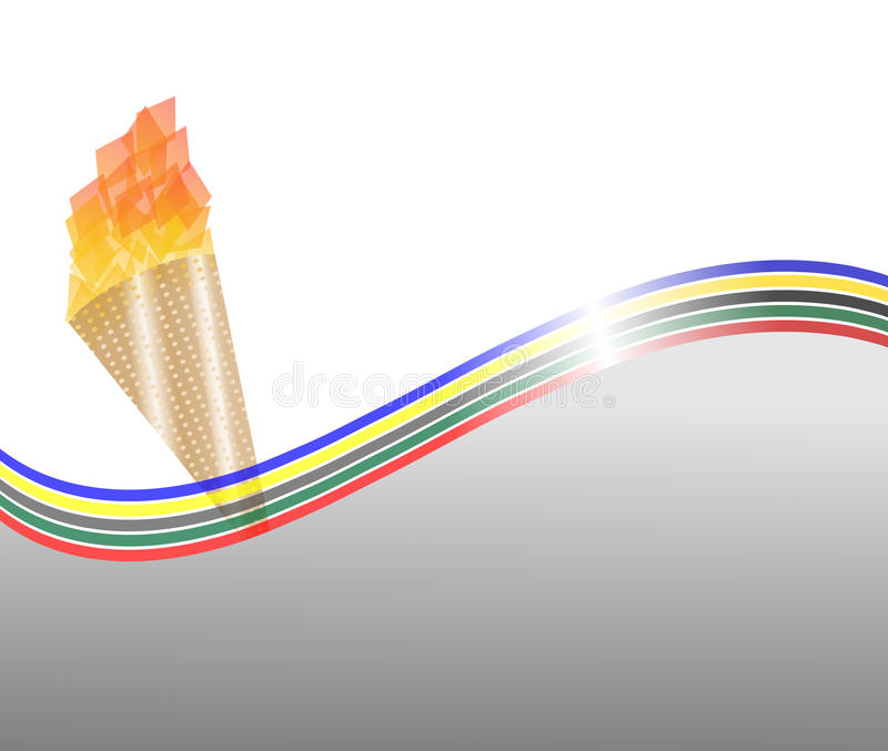 Download Olympic poster stock illustration. Illustration of olympic - 25496398