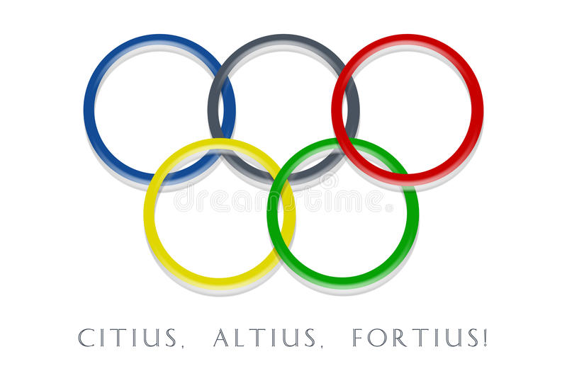 Download Olympic rings editorial photography. Image of asia, blue - 12941262