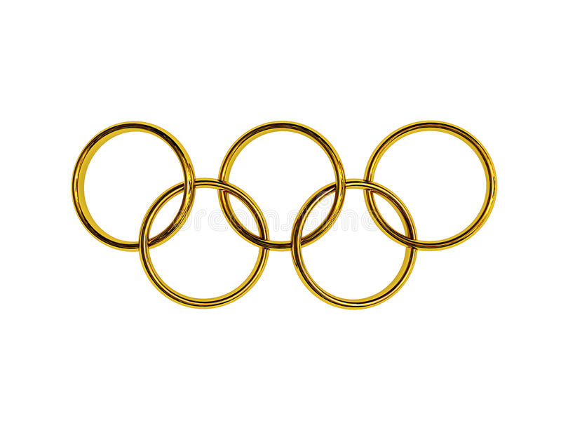 Olympic Rings Editorial Photo