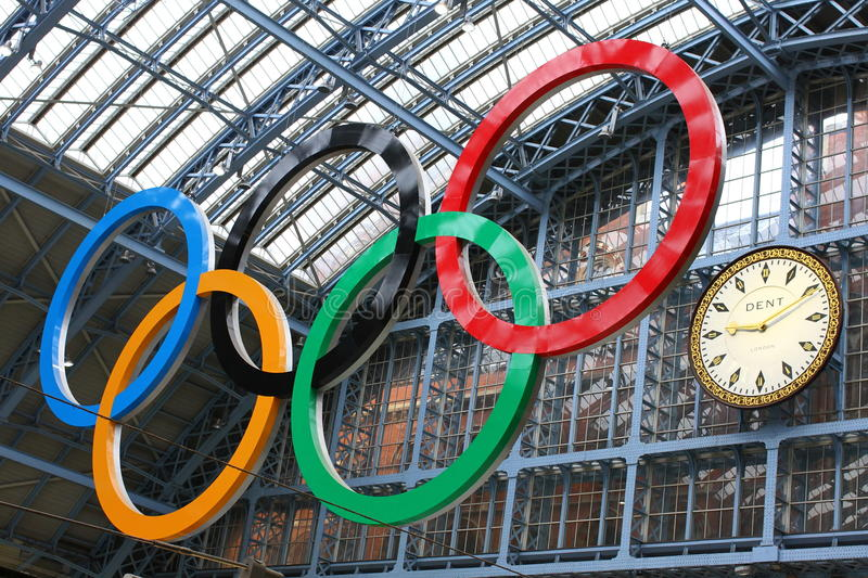 Download Olympic rings editorial image. Image of game, city, 2012 - 22925140