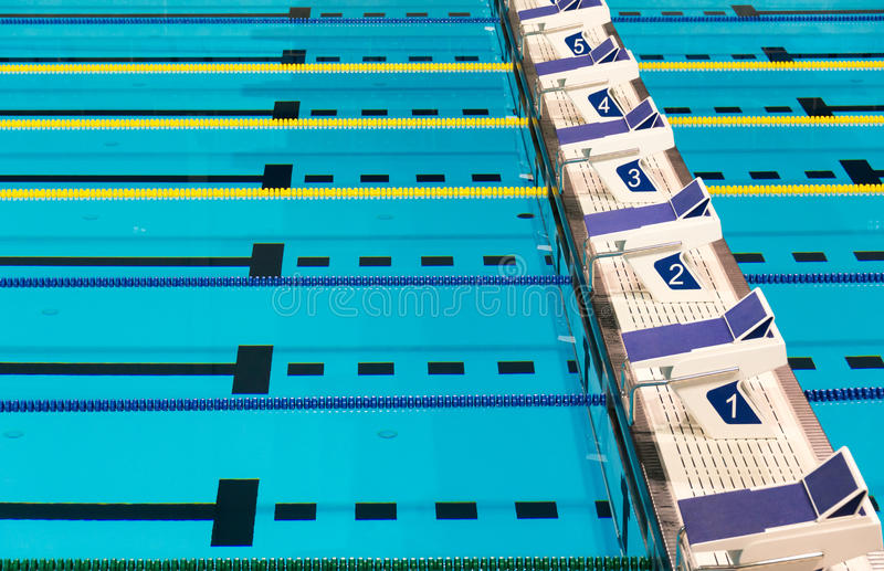 Olympic Swimming Pool Lanes olympic sport competition swimming pool lanes stock photo - image