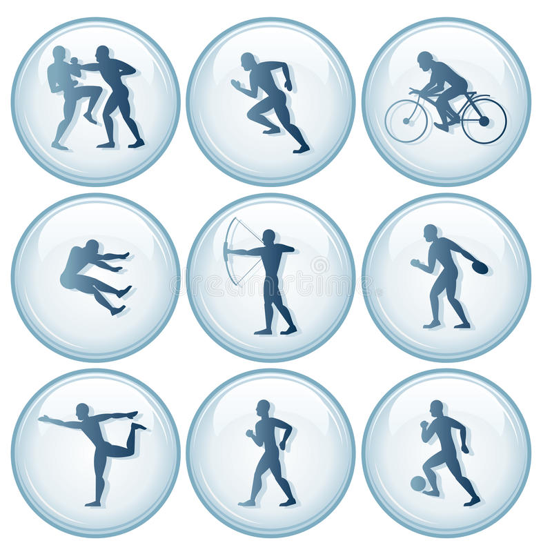 Download Olympic Sport Icons Set 1 Stock Photography - Image: 23165792