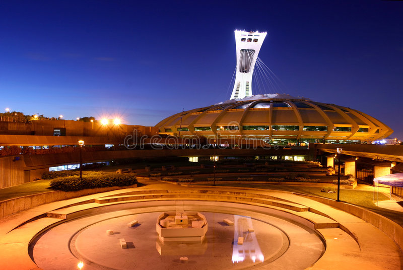 olympic stadion royaltyfria foton