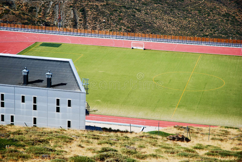 Download Olympic Stadion, Sierra Nevada Stock Image - Image: 16468047
