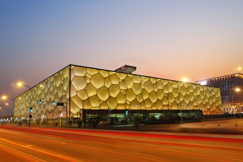 Download Olympic stadium editorial stock photo. Image of building - 7596328