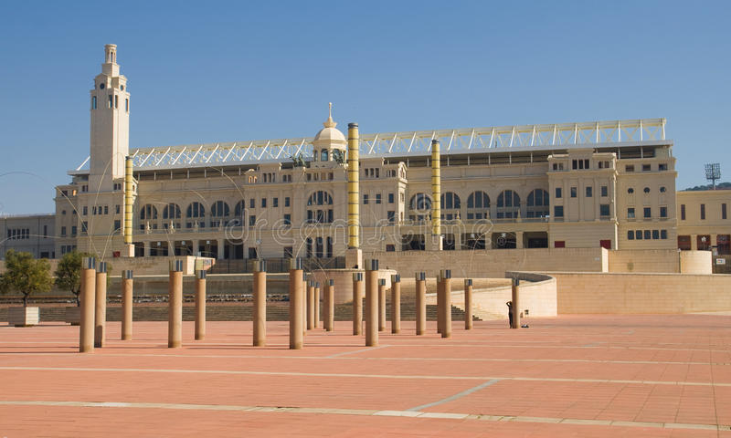 Olympic Stadium Of Barcelona Editorial Image
