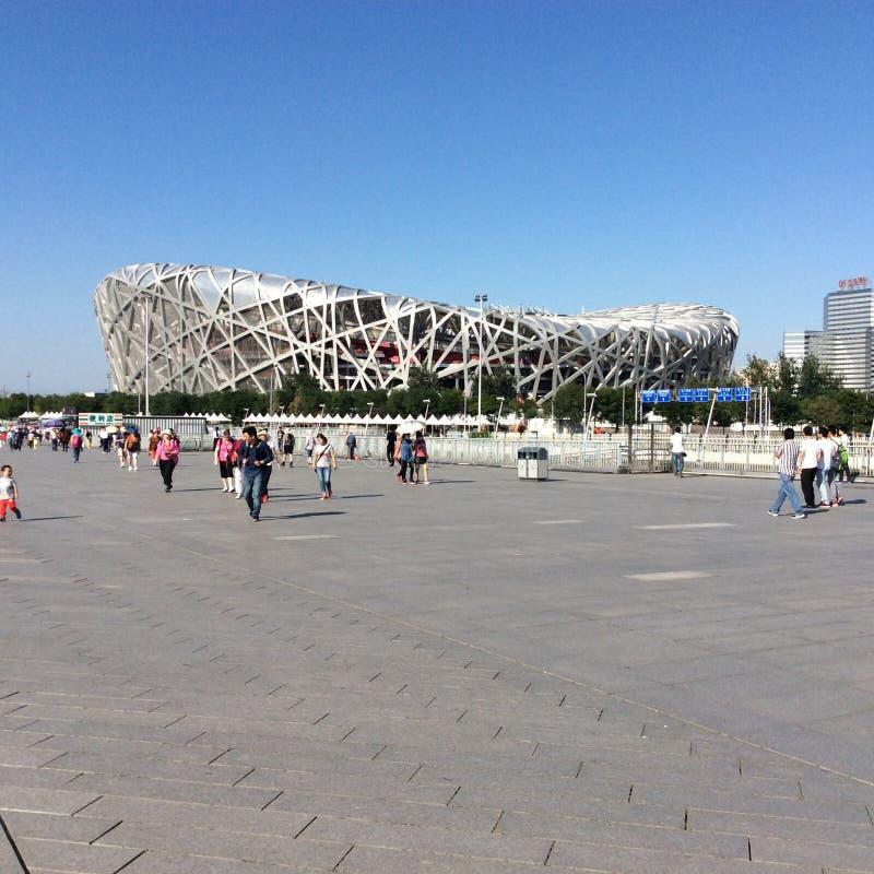 Olympic stadium in Beijing royalty free stock image
