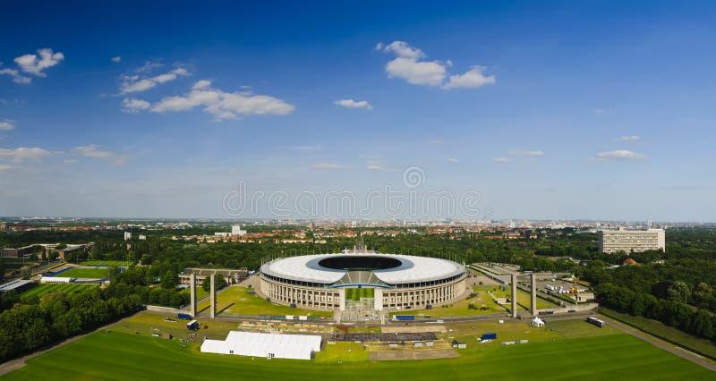 Olympic stadium berlin royalty free stock photos