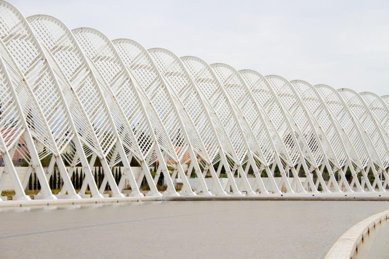 Olympic Stadium I Athens, Grekland Redaktionell Foto
