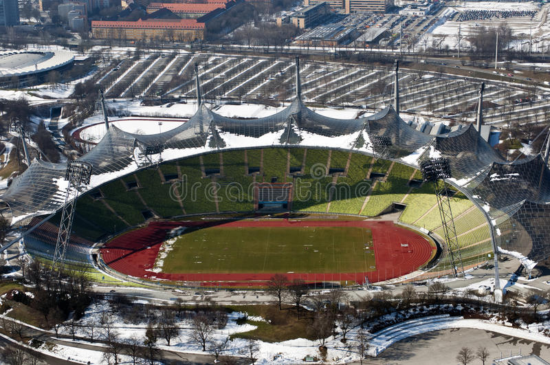 Olympic Stadium In Munich Royalty Free Stock Photography
