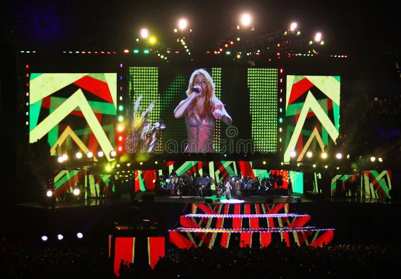 Download Olympic Stadium (NSC Olimpiysky) Opening Ceremony Editorial Stock Image - Image of dancer, female: 21639219