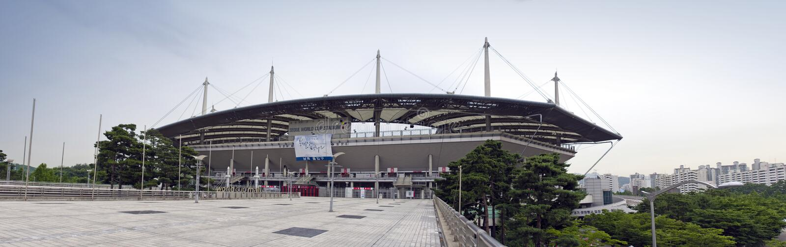 Download Olympic stadium in Seoul editorial stock photo. Image of seoul - 15281423