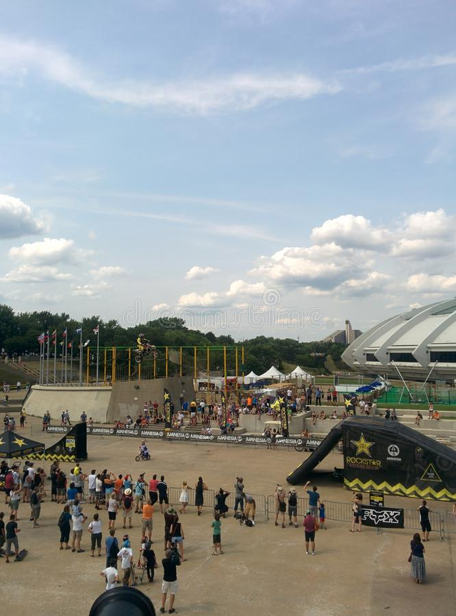Olympic Stadiun royalty free stock photo
