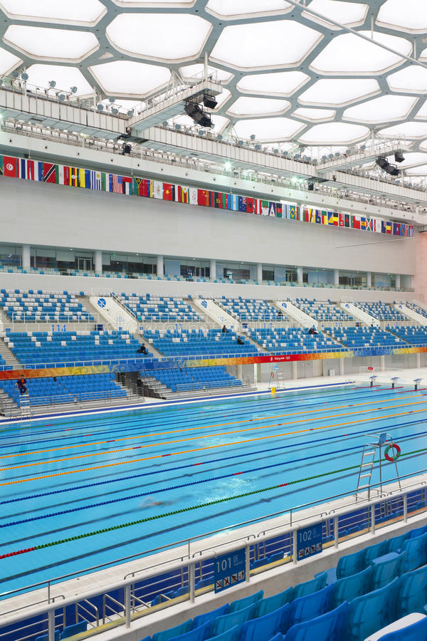 Download Olympic Swimming Pool editorial stock photo. Image of cube - 24658768