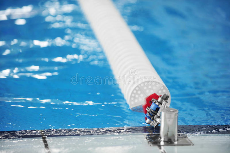 download olympic swimming pool lane divider stock photo image 45636937