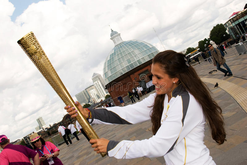 Download Olympic torch editorial stock image. Image of holder - 25820049