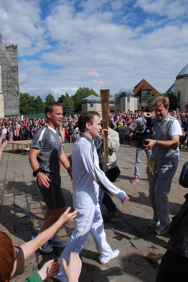 Download Olympic Torch Relay editorial photo. Image of mayor, clues - 25888666