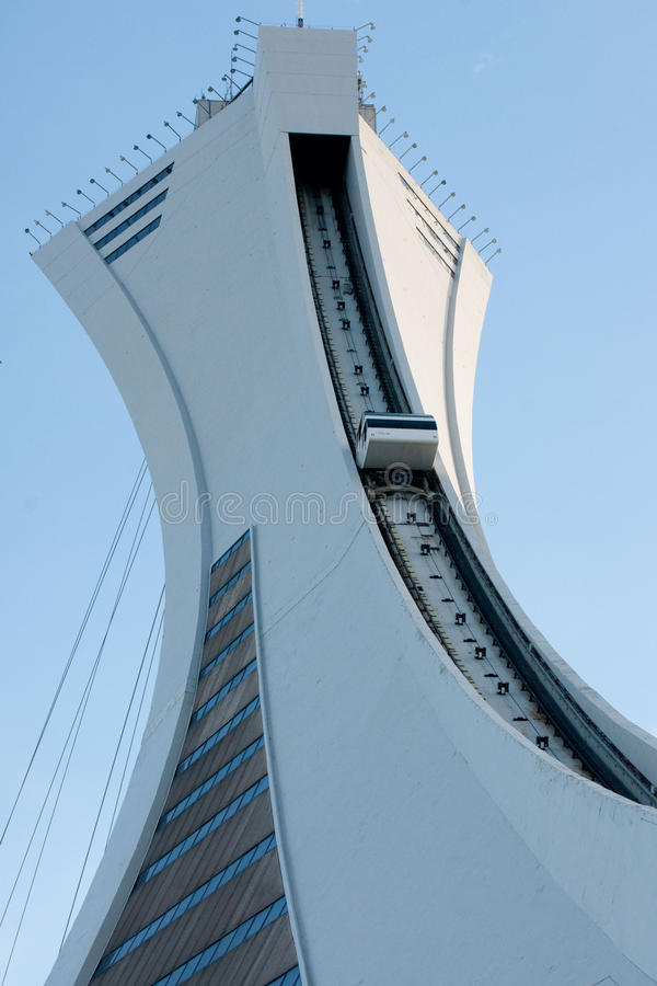 Download Olympic tower editorial photo. Image of funnicular, montreal - 21004651