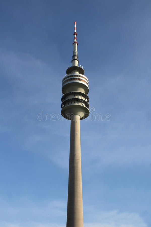 Olympic Tower In Munich Stock Image